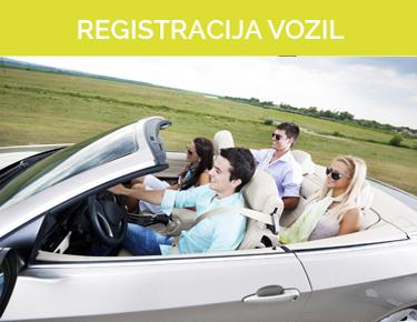 S in M Registracija vozil